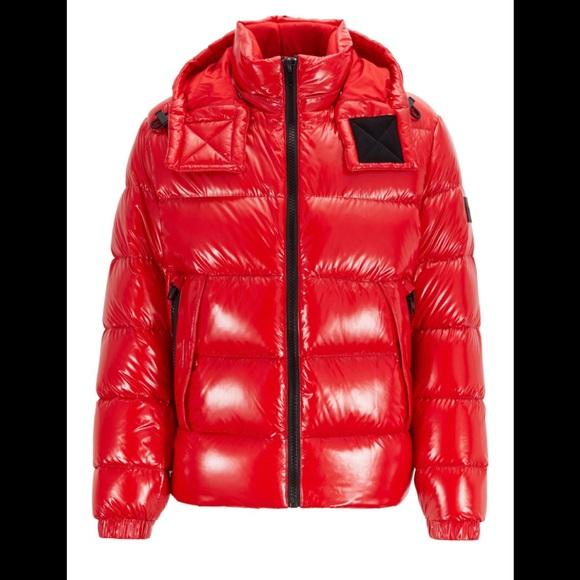 hugo boss duck down coats